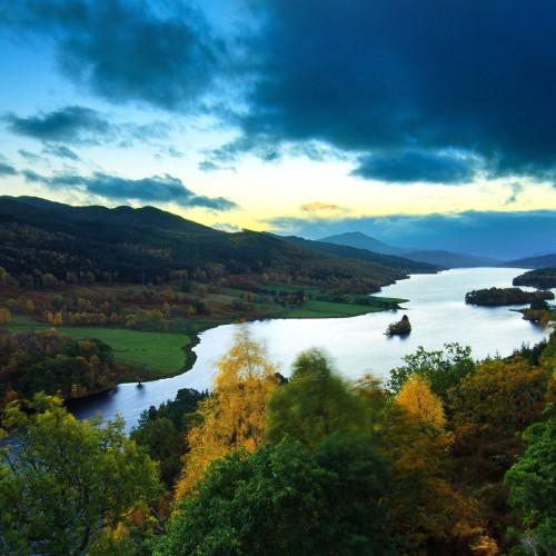 Loch Tummel & Loch Tay